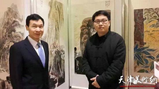 中国文化国际经贸交流活动暨首届海峡两岸当代名人书画展