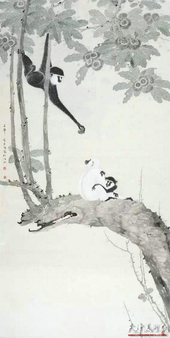 张晓彦水墨印象展