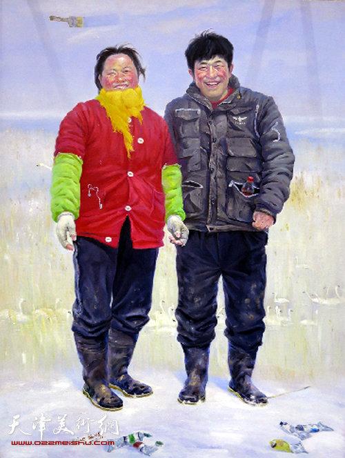薛福顺:《开春》