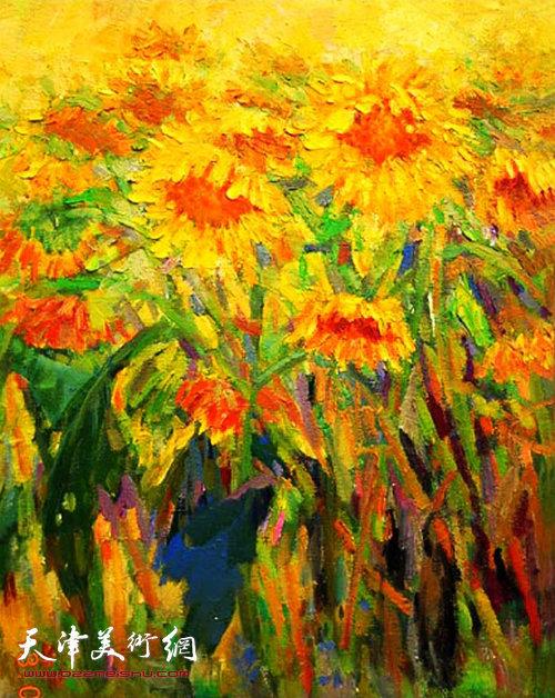薛福顺作品:《七月的阳光》