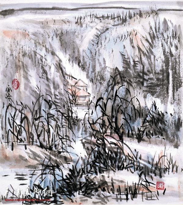 范闻泽作品:《秋壑》
