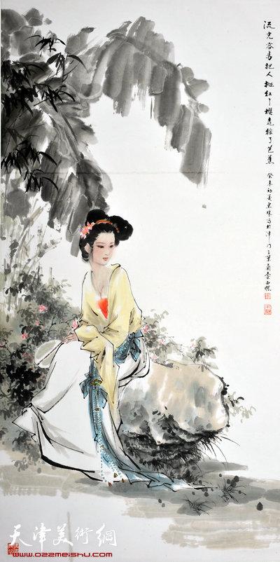 萧慧珠作品:红了樱桃绿了芭蕉