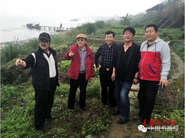 中国书画报社何东社长王慧智总编辑等赴广东走基层