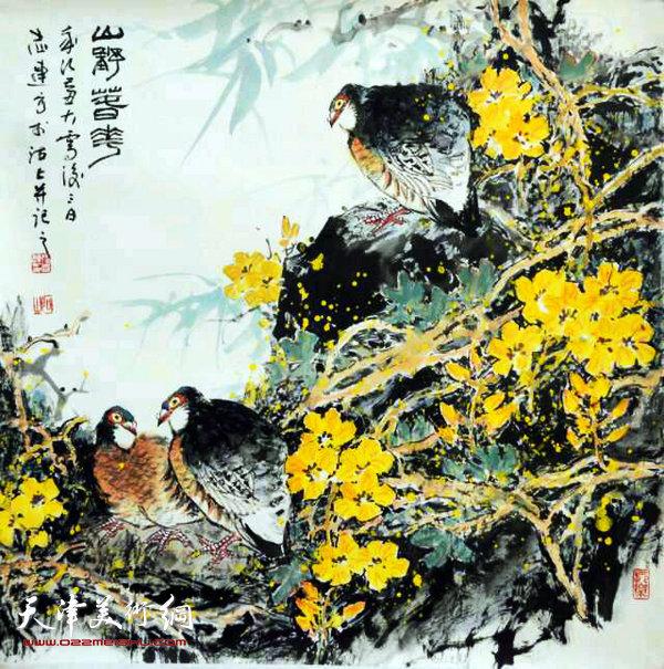 张志连作品:山野春花