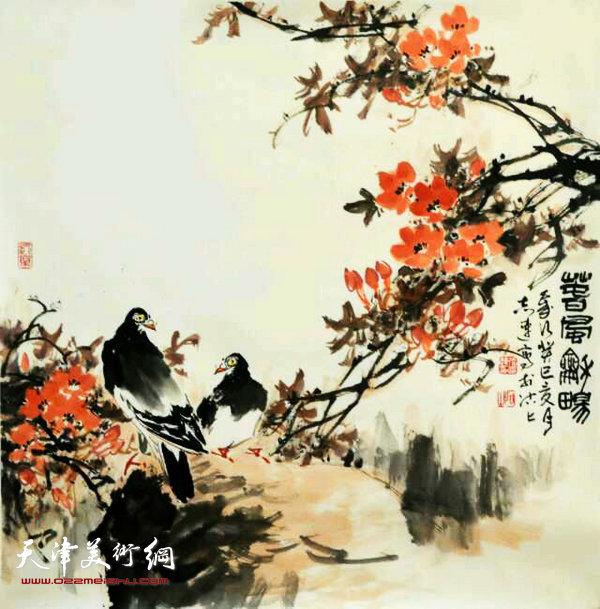 张志连作品:春风和畅