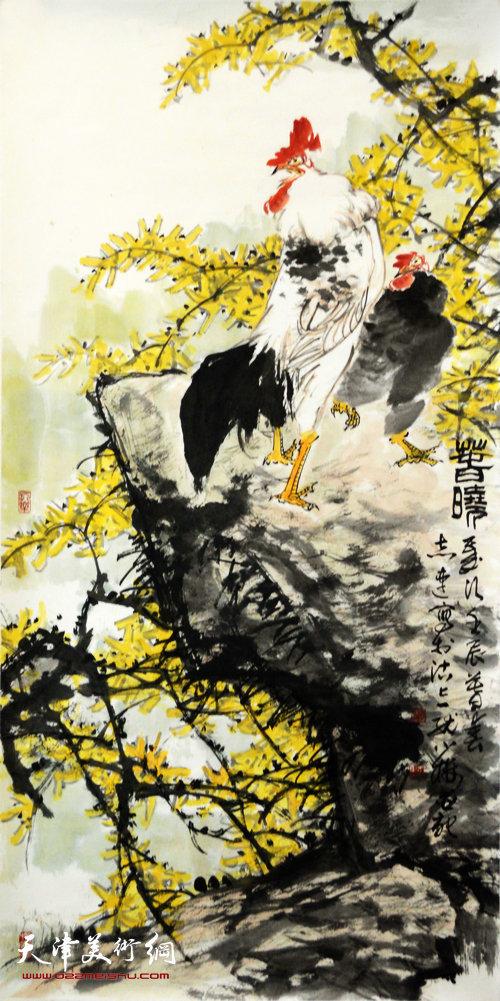 张志连作品:春晓