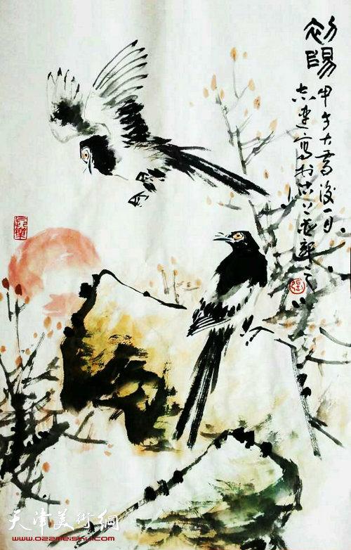 张志连作品:初阳