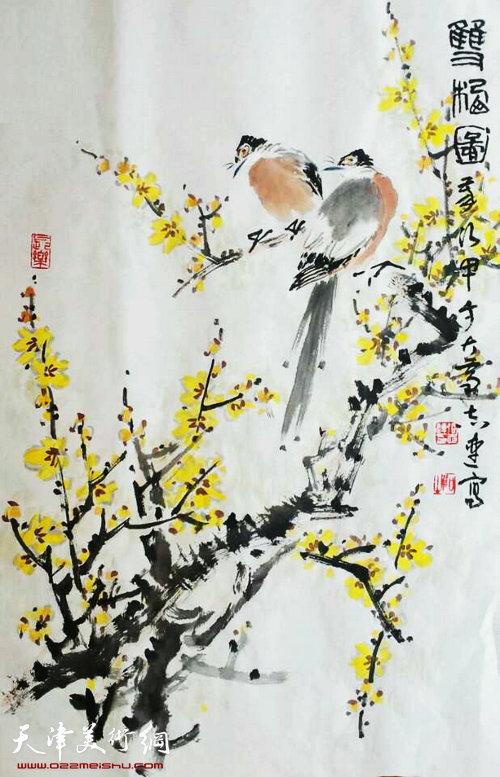 张志连作品:迎春