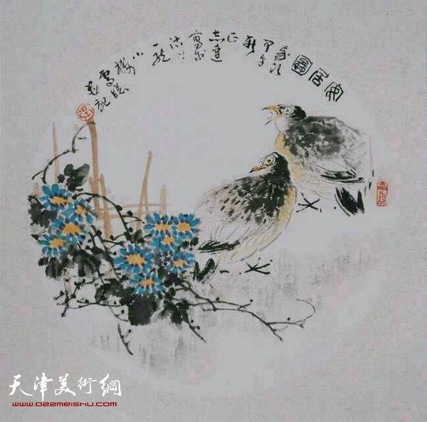 张志连作品:安居图