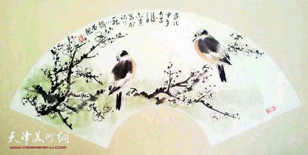 张志连作品:静心图