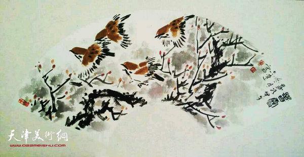 张志连作品:春雪