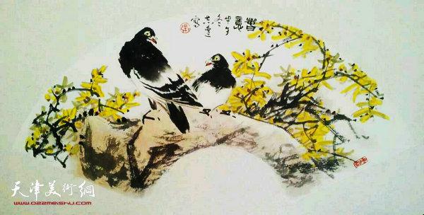 张志连作品:春意