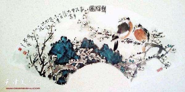 张志连作品:双栖图