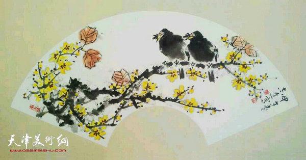 张志连作品:迎春图