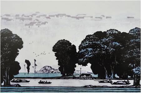 70时年代的房子线描画