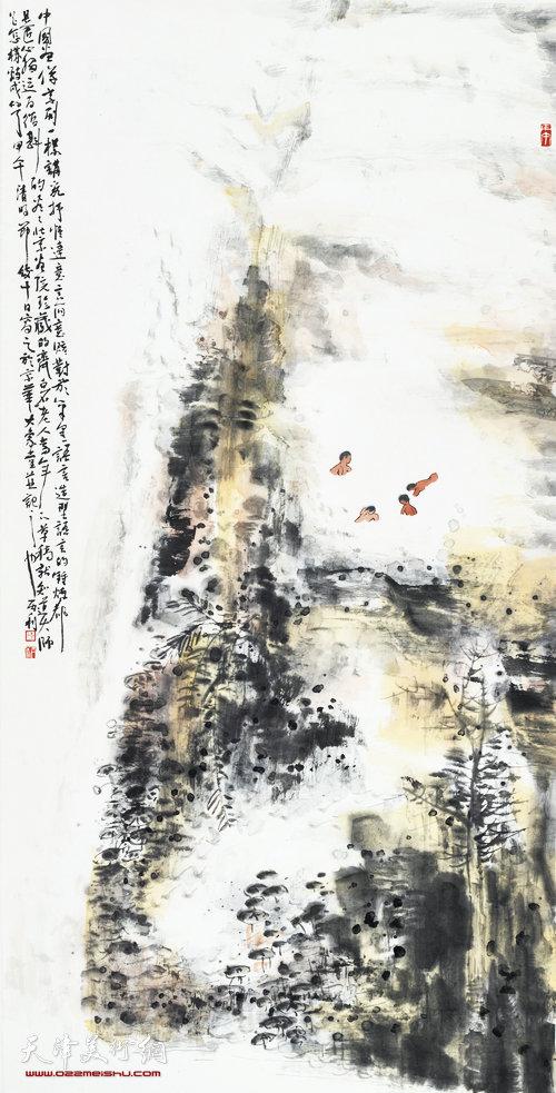 陈丙利作品:《逍遥游》系列之一
