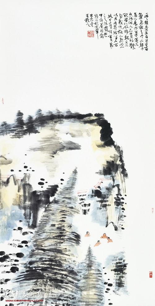 陈丙利作品:《逍遥游》系列之二