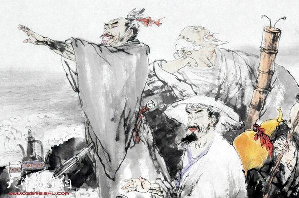 王春涛新作:八仙过海