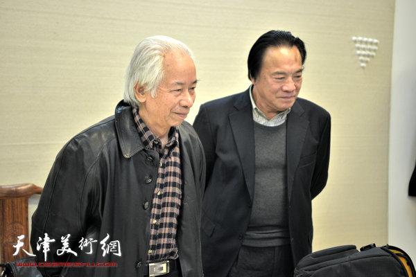吴泽浩、庄征在天津美术网
