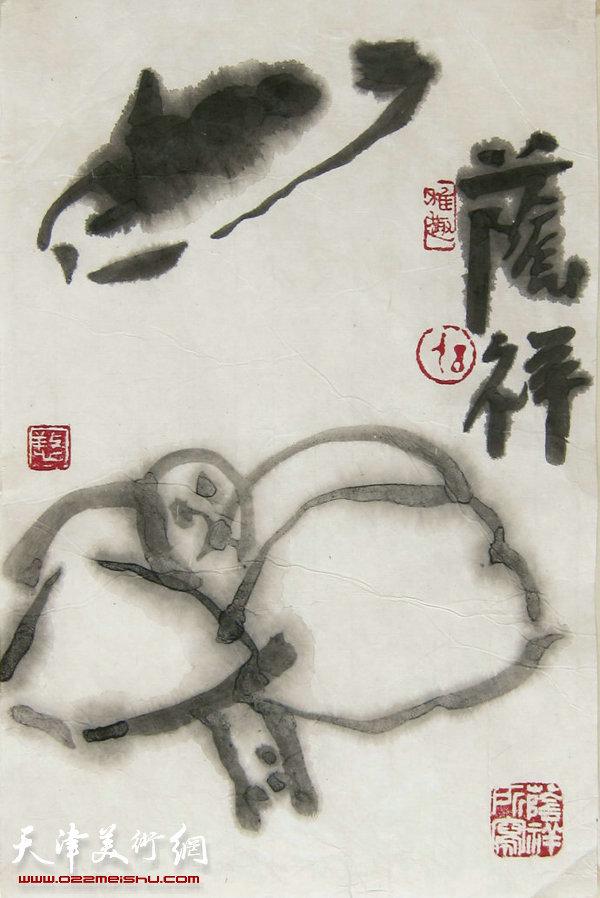 刘荫祥大写意小品新作引广泛关注 近日办讲座示范|画