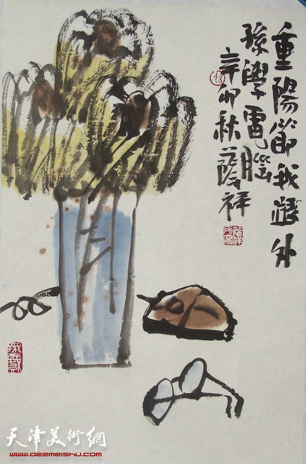刘荫祥大写意小品新作引广泛关注 近日办讲座示范