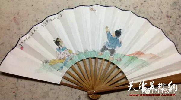 卢东升的写意画—孩童系列作品。