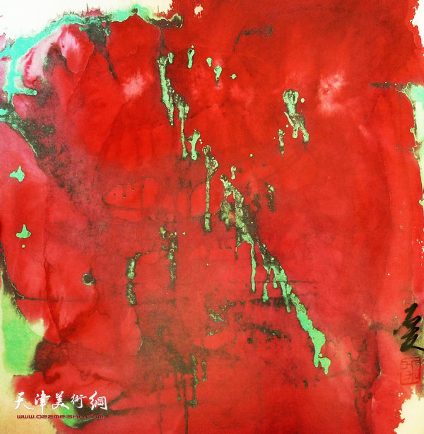 李存伟作品:红土地