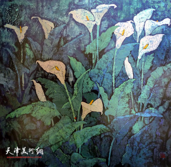 张振群作品:马蹄莲之一