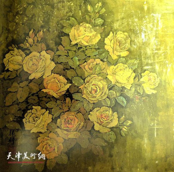 张振群作品:黄月季