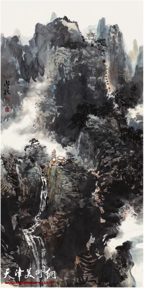 刘凤棋《云水关山》