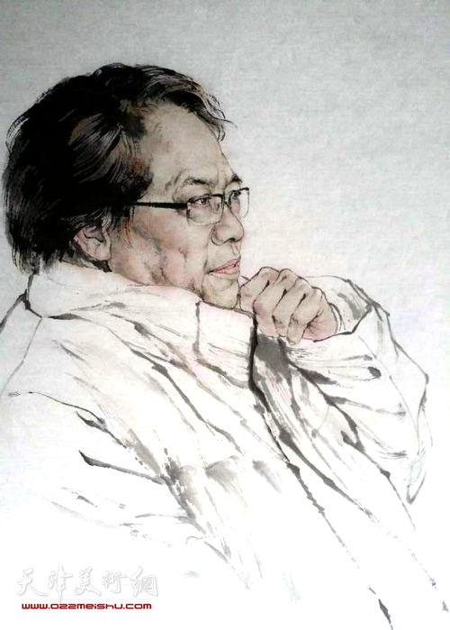 《刘皓造像》 张亚光 作品
