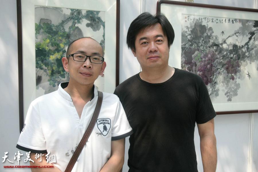 王其华葡萄书画艺术作品展