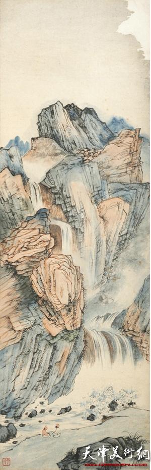 湖社遗韵—贾元聲作品展8月6日在天津图书馆举行
