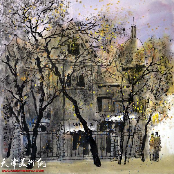 魏瑞江作品:都市漫步
