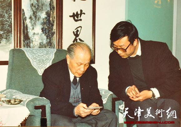 时景林和赵松涛先生