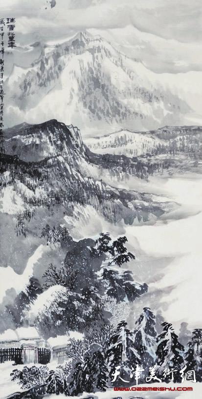 时景林作品《瑞雪兆丰年》