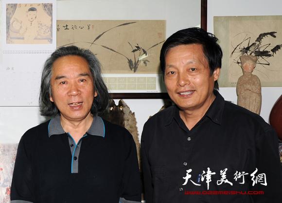 孟宪义与恩师霍春阳教授