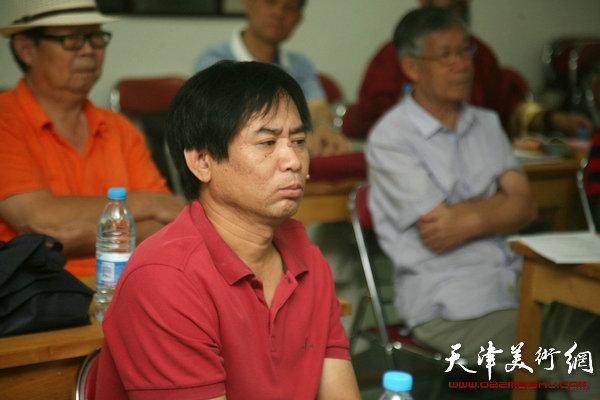 天津艺术家赴新疆文化交流新闻发布会