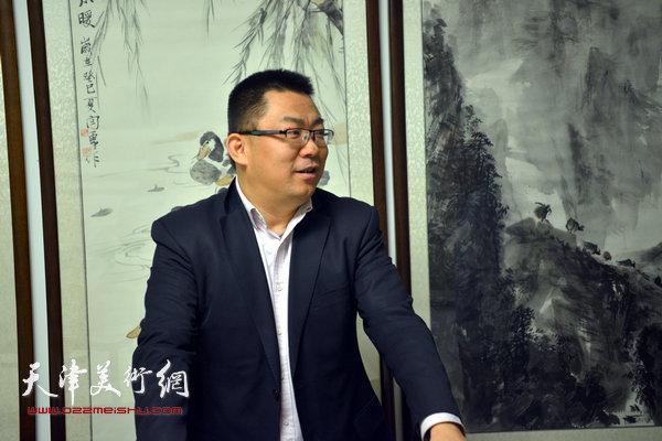 邓捷在天津美术网