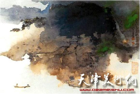 中国基于宏观转换的抽象思维作品