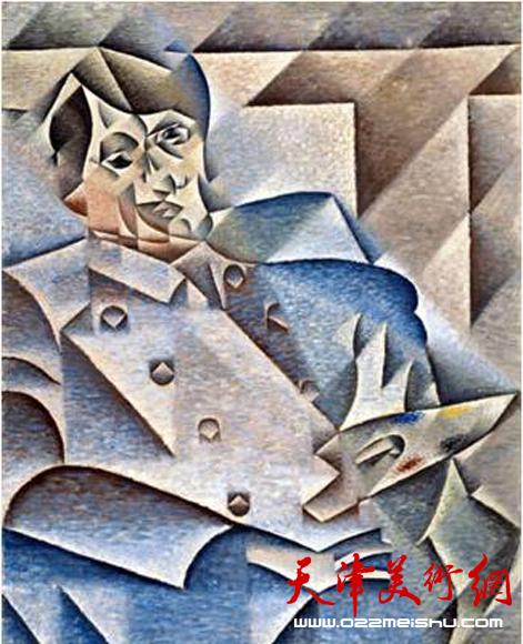 格罗斯 毕加索像