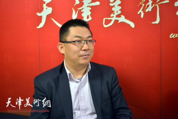 留法艺术史硕士邓捷做客天津美术网