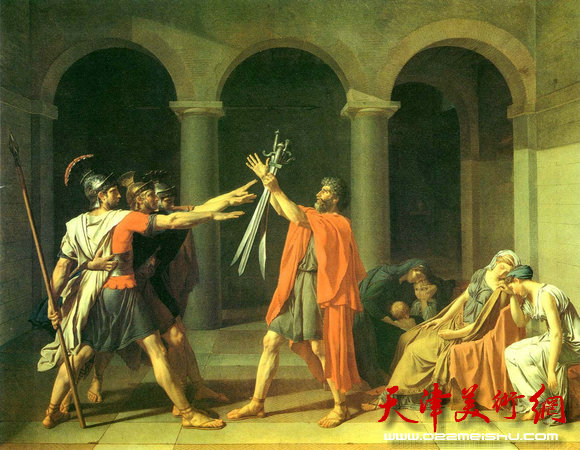 雅克·路易·大卫 荷拉斯兄弟之誓