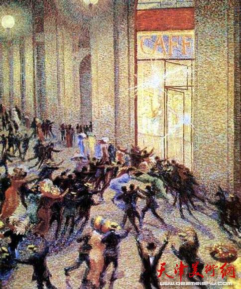 薄丘尼 美术馆里的骚动