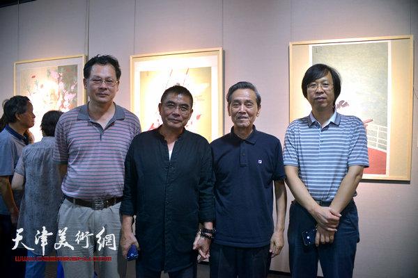 左起:潘津生、杨沛璋、曹德兆、路洪明