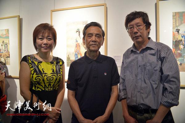 左起:李澜、曹德兆、王春涛