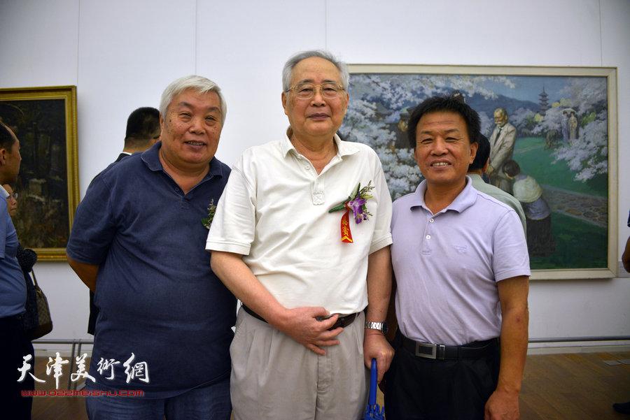 左起:张汝为、王海平、詹卫国