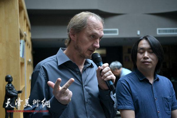 约亨· 库布里克谈在中国办展的体会。
