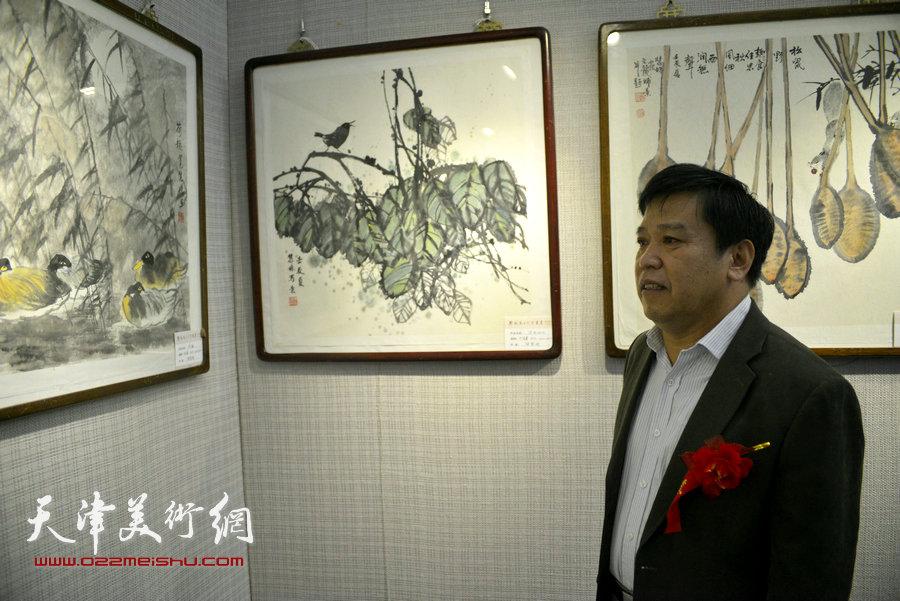 天津市美术家协会秘书长李耀春