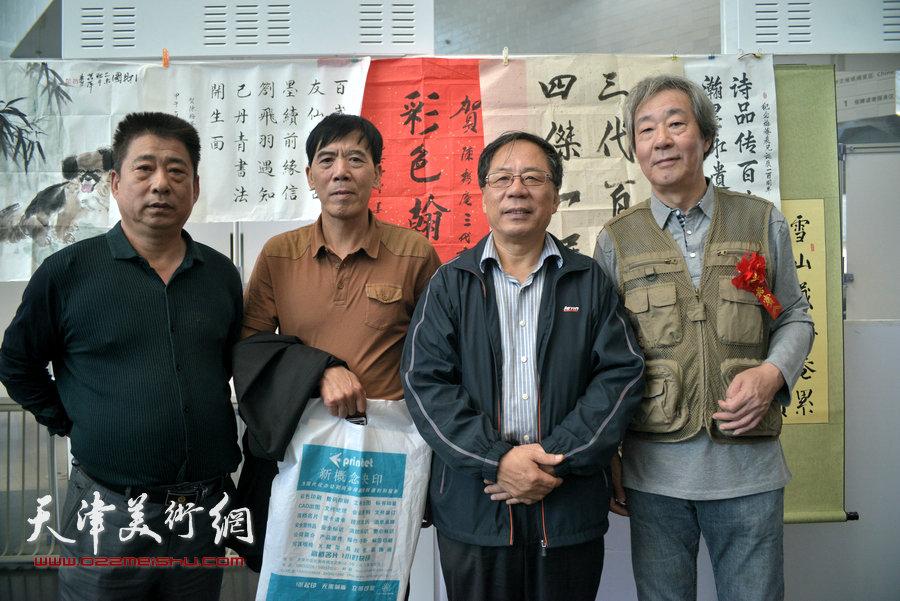 左起:王海云、于凤江、陈英杰、张亚光等